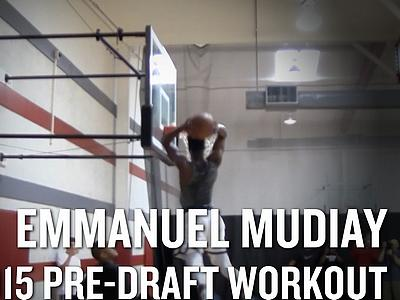 Emmanuel Mudiay Workout Video and Interview