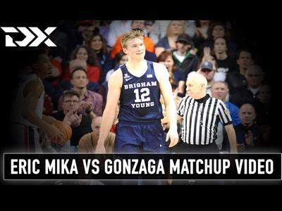 Eric Mika vs Gonzaga Matchup Video