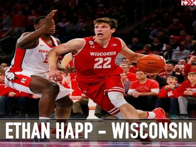 Ethan Happ: Sophomore Year Jump