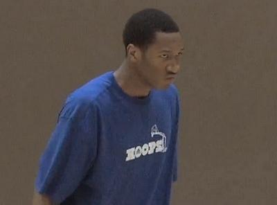 Wesley Johnson Late Night ATTACK Athletics Workout