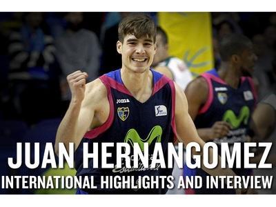 Juan Hernangomez Interview and Highlights