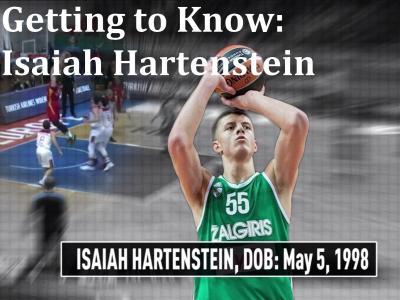 Getting to Know: Isaiah Hartenstein