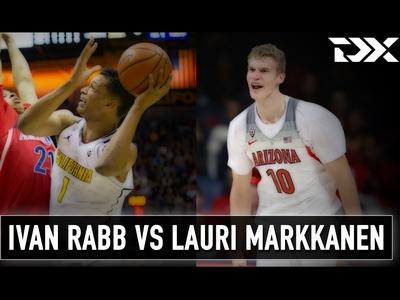 Matchup Video: Ivan Rabb vs Lauri Markkanen