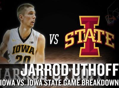 Jarrod Uthoff vs Iowa State Video Analysis