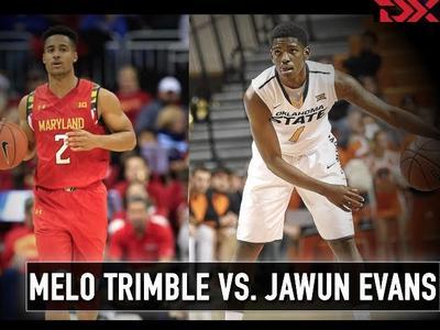 Matchup Video: Melo Trimble vs Jawun Evans