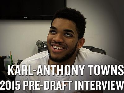 Karl-Anthony Towns Interview