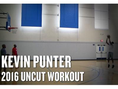 Kevin Punter 2016 NBA Pre-Draft Workout