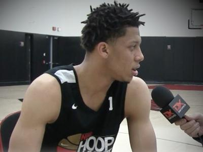 2017 Lindell Wigginton Nike Hoop Summit Interview and Highlights