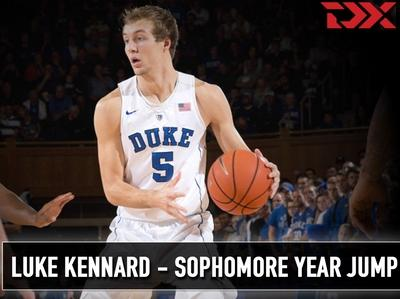 Luke Kennard Sophomore Year Jump