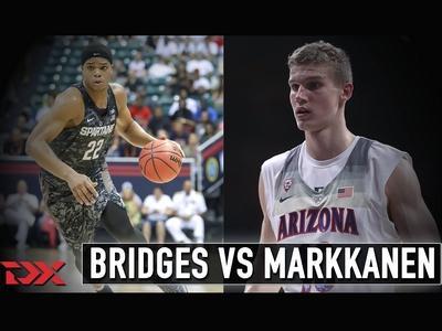 Matchup Video: Miles Bridges vs Lauri Markkanen