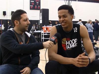 2015 Nike Hoop Summit Video Interview: Skal Labissiere
