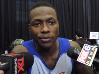 Terry Rozier and Marcus Thornton Interviews