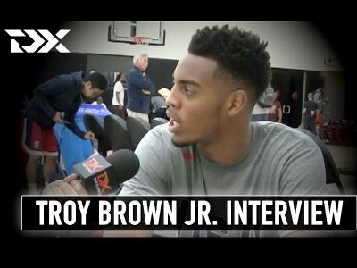2017 Troy Brown Hoop Summit Interview and Highlights