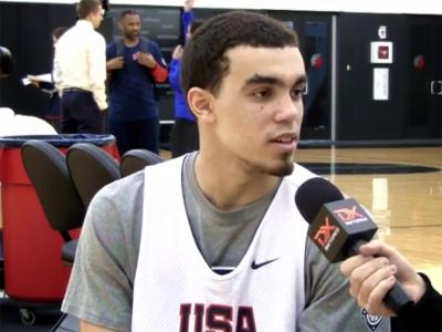 2014 Nike Hoop Summit Video Interviews: Tyus Jones, Mike Moser