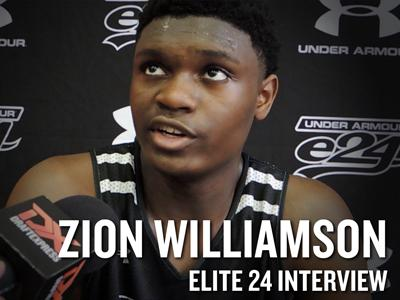 2016 Elite 24 Interviews: Zion Williamson and Silvio De Sousa