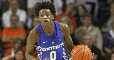 De'Aaron Fox nba mock draft